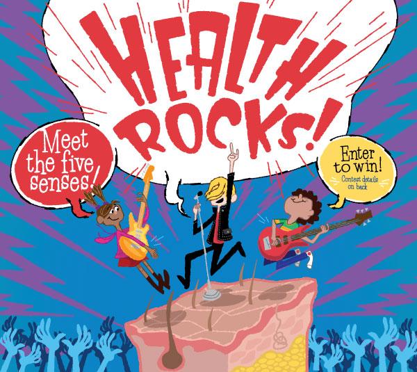 Original Health Rocks cover