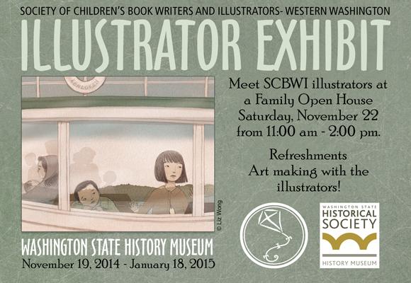 SCBWI Illustrator Exhibit